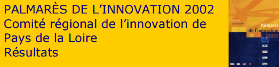 palmarès de l'innovation 2002